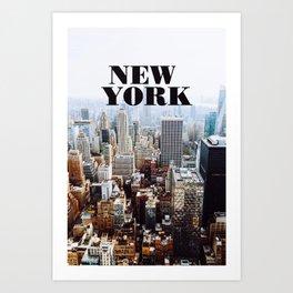 Hello, New York! Art Print