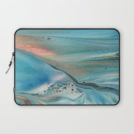 Pearl marble abstraction Laptop Sleeve