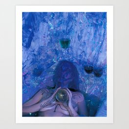 4 of Cups Art Print