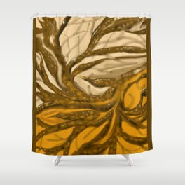 Fall Branches Shower Curtain