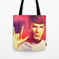 Spock Rocks Tote Bag