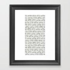 Volkswagens Everywhere Framed Art Print