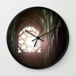 St. Vitus Cathedral: Prague, Czech Republic Wall Clock