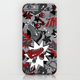 Roller Derby Slam iPhone Case