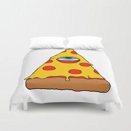 Illuminati Pizza - Swag Pepperoni Confirmed Duvet Cover
