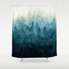 The Heart Of My So Far From Home Edit Shower Curtain