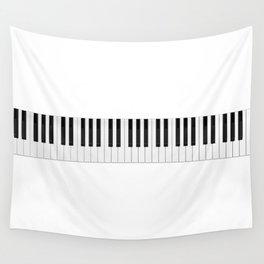 Piano / Keyboard Keys Wall Tapestry