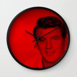 Rock Hudson - Celebrity (Photographic Art) Wall Clock