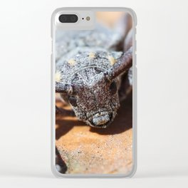 Beetle barbel. Clear iPhone Case