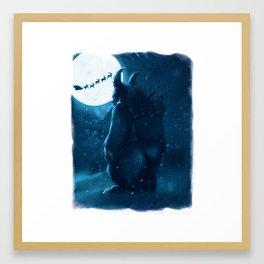 Lost Krampus Framed Art Print