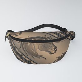 Horse Nation (Brown) Fanny Pack