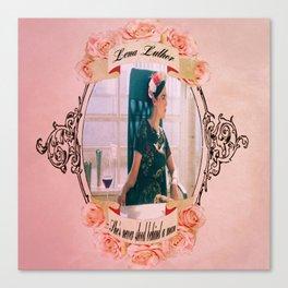 Lena Luthor Canvas Print