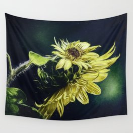 Sunflower At Sunrise Wall Tapestry