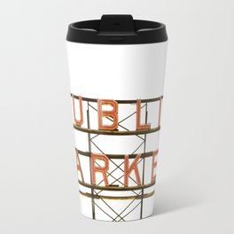 Pike Place Public Farmers Market - Sunrise Travel Mug