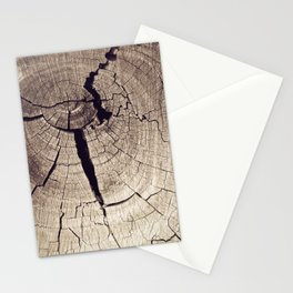 Cracks in Time - Photography #Society6 Stationery Cards