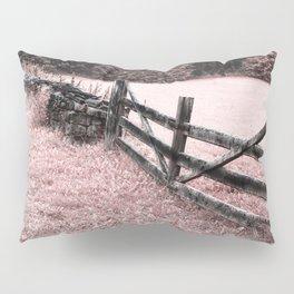 Pink landscape Pillow Sham