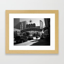 Reno Framed Art Print