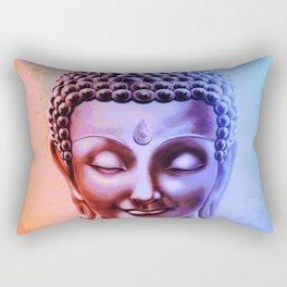 Gautama Buddha Abstract Rectangular Pillow