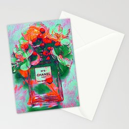 Fragrance 5 Flowers Stationery Cards