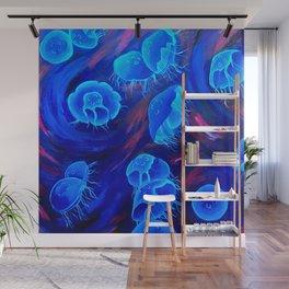 Moon Jellyfish Wall Mural