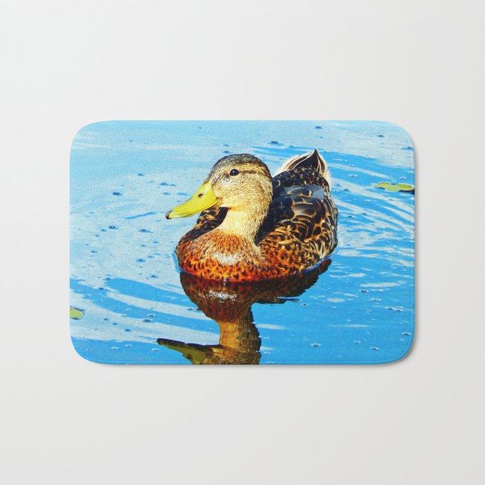 Duck Reflected Bath Mat