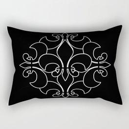 Fleur de lis ...Five Reversed Rectangular Pillow