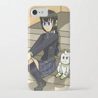 digimon iPhone & iPod Cases featuring Digimon - Dear Friends by MinawaKittten