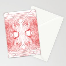 The Willow Pattern (Rose variation) Stationery Cards