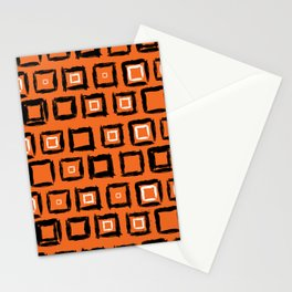 City from above Stationery Cards