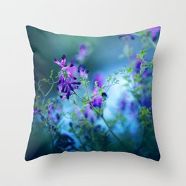 Forest Echoes Throw Pillow