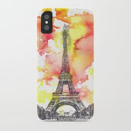 Eiffel Tower in Paris France iPhone Case