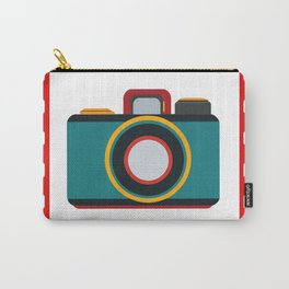 retro camera Carry-All Pouch