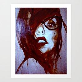 Lipstick pencil Art Print