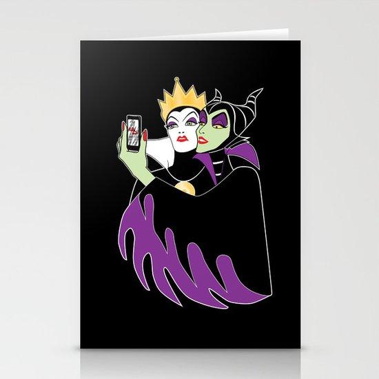Grimhilde & Maleficent Selfie Stationery Cards