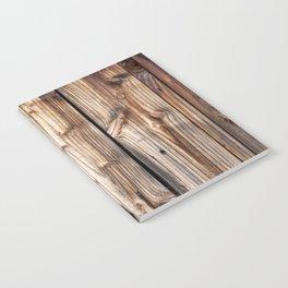Wood pattern Notebook
