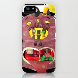 Haunted Monster House iPhone Case
