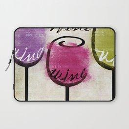 Wine Tasting Laptop Sleeve