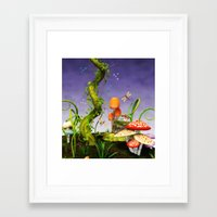 fairytale Framed Art Prints featuring fairytale by Ancello