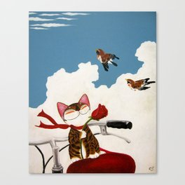 Come Fly Away With Me Canvas Print