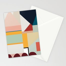 modern abstract II Stationery Cards