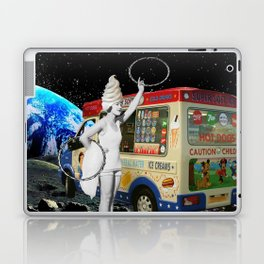Miss Whippy Hooping in Space Laptop & iPad Skin