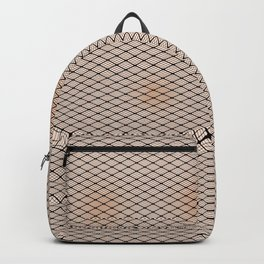 Fishnets and Pale Skin Texture Backpack