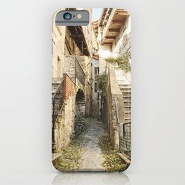 Como walk way iPhone Case