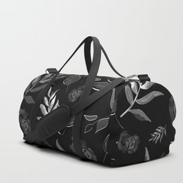 Simple and stylized flowers 18 Duffle Bag