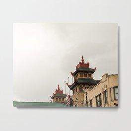 Chinatown Chicago #5 Metal Print