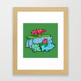 Pokémon - Number 1, 2 & 3 Framed Art Print
