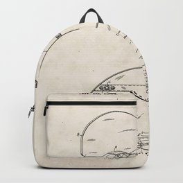Basketball Goal Vintage Patent Hand Drawing Backpack
