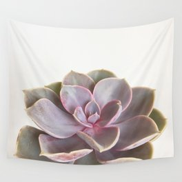 Purple Succulent Wall Tapestry