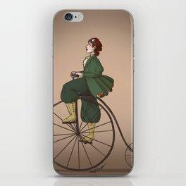 Victorian Biker iPhone Skin