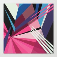 Canvas Prints featuring Amazing Runner No. 5 by Bakmann Art